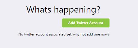 Add twitter