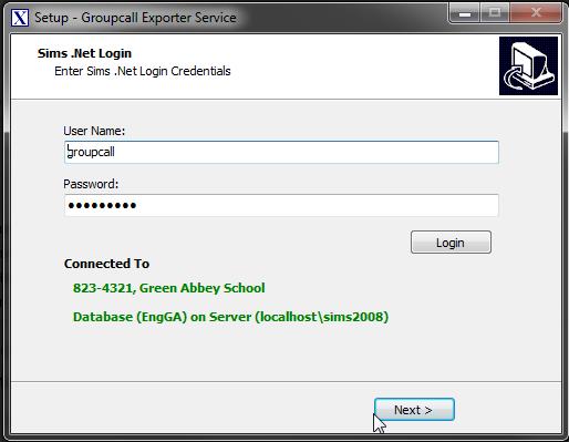 Installing Xporter - MIS Credentials.png