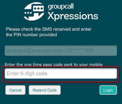 Forgot password code