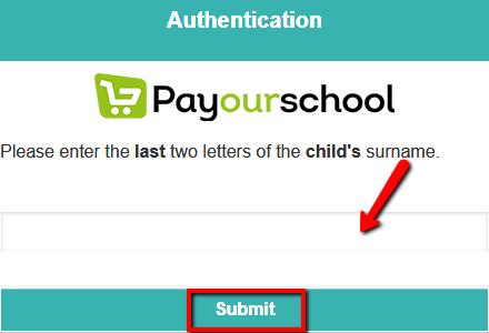 POS - Parent portal authentication