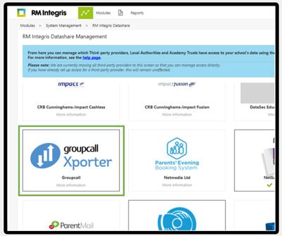 RM datashare management