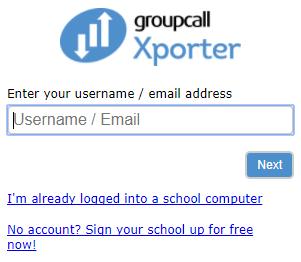 Xporter-Enter your Estab username.png