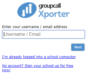 Xporter-Enter your Estab username.png